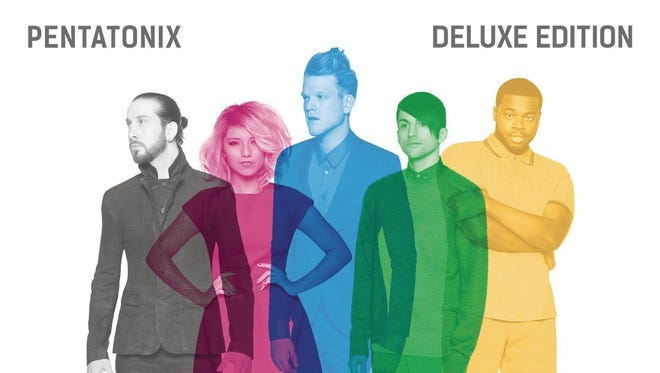 Pentatonix's self-titled album is No. 1 nationally for the week of Oct. 22.