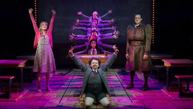 'Matilda,' the wildly creative musical, is true in spirit to the Roald Dahl classic.