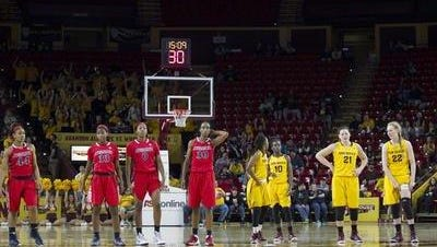 ASU women's basketball swept Arizona last week, improving to a school record best start 15-1, and now are No. 14 in the Associated Press top 25.