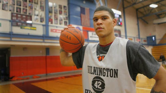 Wilmington 2016 guard Jarron Cumberland is one of the