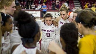 After splitting with nationally ranked Stanford and Oregon State last week, ASU women's basketball moves up two spots to No. 11 in the Associated Press top 25.