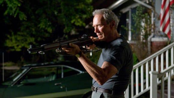 Eastwood in a scene from 'Gran Torino.'