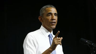 President Barack Obama during a speech at Central High School in Phoenix on Thursday, Jan. 8, 2015 in Phoenix,