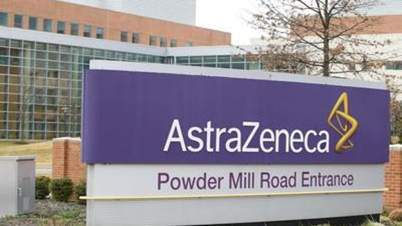 AstraZeneca is relocating 134 workers form its Fort Washington, Pennsylvania plant to Delaware.