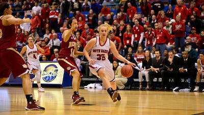 Nicole Seekamp's return was a welcome surprise at USD