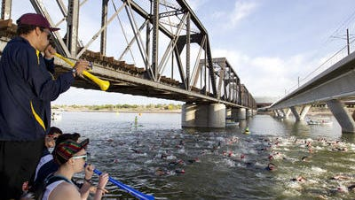 ASU is transitioning women's triathlon into a varsity sport with the help of a three-year grant from USA Triathlon