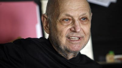 Charles Strouse visited Teaneck.