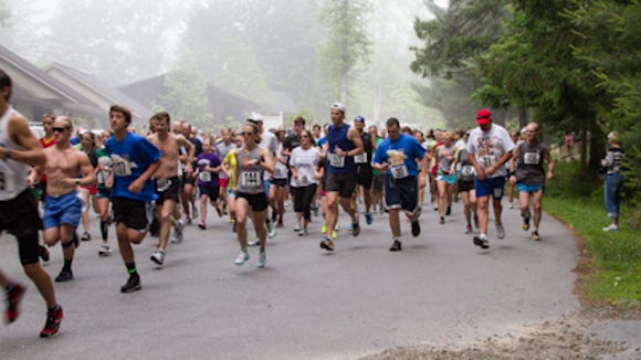 The White Squirrel 5K and 10K race in Brevard this Saturday is part of the annual White Squirrel Festival.