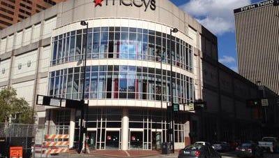 Macy's store in Downtown Cincinnati.