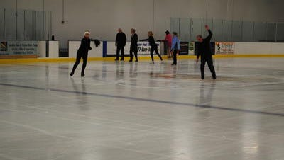 The Desert Ice Castle in Cathedral City was closed for unknown reasons Tuesday. A security guard continued to sit outside the rink Wednesday.