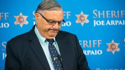 A federal judge declined to punish Sheriff Joe Arpaio's top managers for their roles in ongoing immigration patrols.