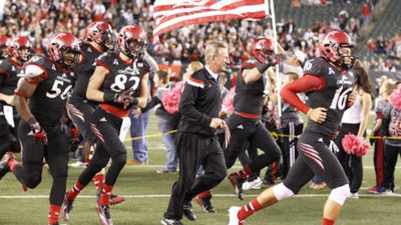 Tommy Tuberville is ready to lead UC back into Nippert Stadium for the first time since 2013.
