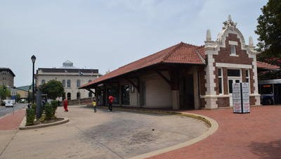 The transit station in downtown Alexandria potentially could be repurposed under ideas suggested for the R.I.V.E.R. Act.