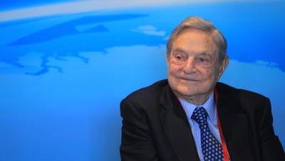 Hedge fund mogul George Soros