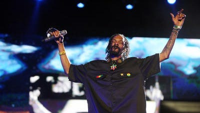 Dr. Dre and Snoop Dogg perform on the Coachella Stage during the Coachella Valley Music and Arts Festival at the Empire Polo Fields on Sunday, April 22, 2012 in Indio, Calif.