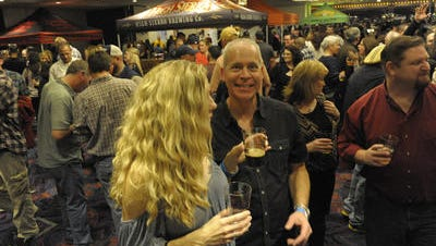 Scenes from Brew HaHa at The Nugget in Sparks Friday Feb. 13, 2015. Brews and Boos will have a similar concept but Halloween-themed.