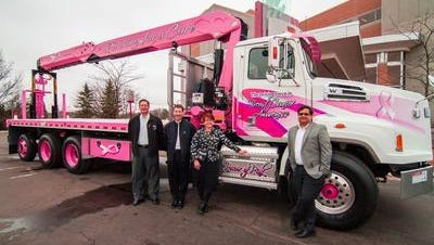 V&H Trucks Inc. was named the 2015 Firm of the Year by MACCI. In June, V&H designed a pink boom truck, which was sold at auction for more than $500,000, which included a $205,000 donation to Marshfield Clinic for breast cancer research.