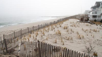 Beach at Bay Head. Nine residents who own seven oceanfront properties in the borough have sued the state Department of Environmental Protection,   demanding to be removed from a project that would build 22-foot dunes and replenish beaches from Manasquan to Barnegat inlets.