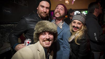 The Melody Inn has an annual Mustache bash at the end of November.