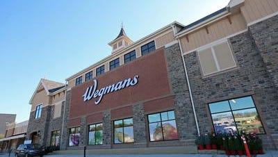 The Concordville, Pennsylvania Wegmans opened on Sunday.