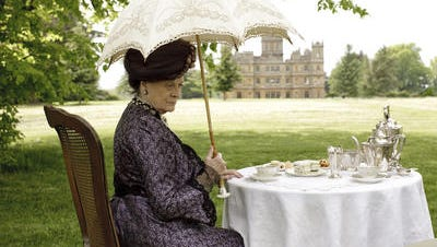 Actress Maggie Smith plays Violet Crawley on PBS' Downton Abbey.