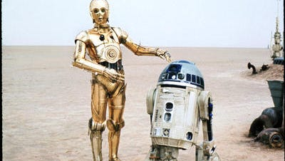 The droids of Star Wars,