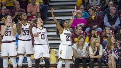 No. 17 ASU is among five nationally ranked Pac-12 teams going into the start of conference play.