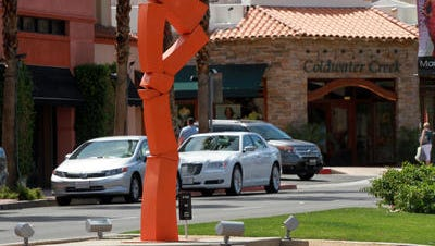 The city of Palm Desert is taking applications from artists interested in exhibiting their sculptures on El Paseo.