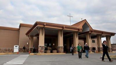 """Southeast Christian Church is planning a """"Chapel in the Woods"""" at its location in eastern Jefferson County. It announced plans for a new campus in Elizabethtown earlier this year.  Its Crestood campus is shown in 2013."""
