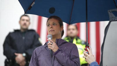 Erika Smith had urged legislators to approve a bill she believes protects law enforcement.