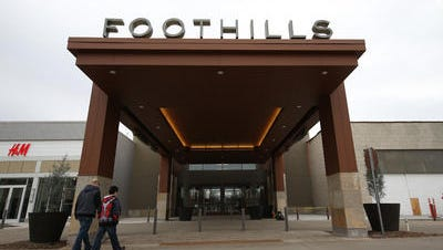 The $313 million redevelopment of Foothills Mall is bringing new revenue to the city's sales tax coffers.