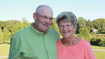 Butch & Carol Klaphake celebrate their 50th Anniversary.