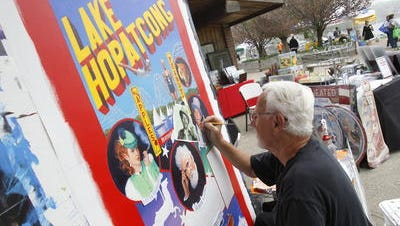 during the Lake Hopatcong Block Party, held at Lake Hopatcong State Park, in Landing. 5/9/2015