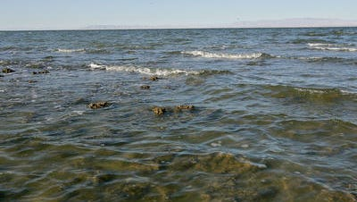 An odor advisory has been issued due to elevated levels of hydrogen sulfide coming from the Salton Sea. It's in effect until midnight.