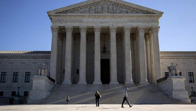 The U.S. Supreme Court in Washington, D.C., is shown. Pennsylvania is seeking to transfer a lawsuit against Delaware to the Supreme Court.