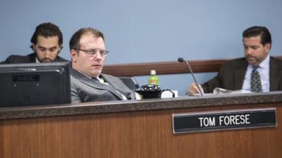 Corporation Commissioner Tom Forese has called for an ethics code.