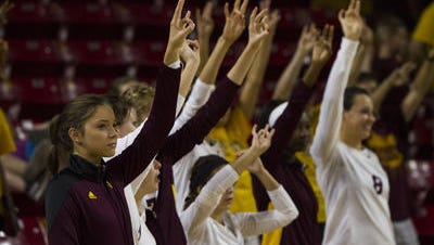 ASU volleyball fans will have to wait until Sept. 30 for the home debut of new coach Stevie Mussie.