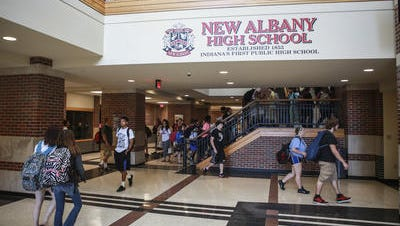 File photo of New Albany High School.