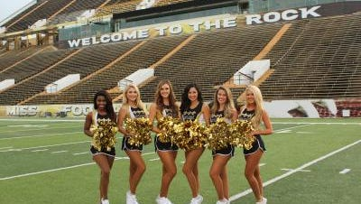Southern Miss alumnae who made it to Saintsations.