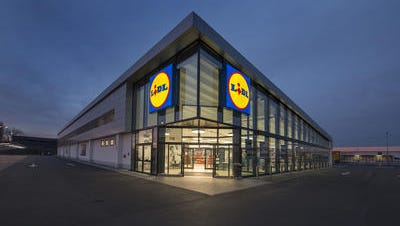 A Lidl grocery store is shown. The company plans to hire 100 workers in Cecil County, Maryland.