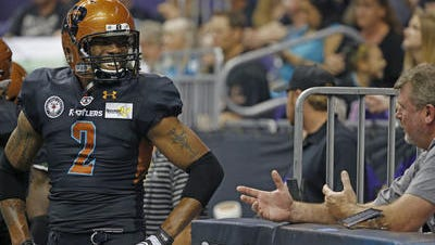 Rattlers receiver Maurice Purify can win his fifth straight ArenaBowl in his sixth season in the Arena Football League