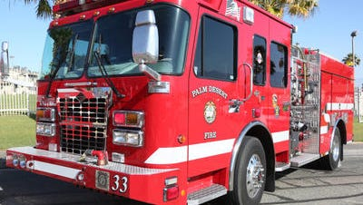 Firefighters quickly contained a dryer fire in the 74000 block of Candlewood Street in Palm Desert Friday morning.