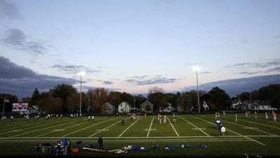 Appleton West's field.