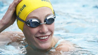 Chaparral junior Taylor Ruck is looking to smash another record at the state high school swimming championships