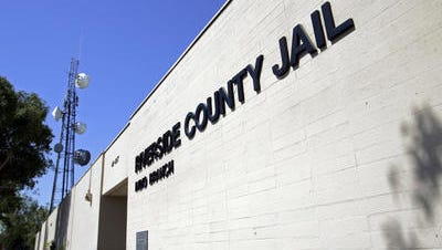 A small electrical fire was reported in a section of the Riverside County Jail in Indio Friday morning.