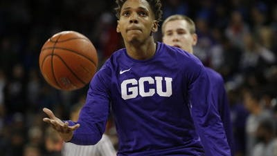 Grand Canyon senior DeWayne Russell makes first-team All-WAC after averaging 21 points, 5 assists.