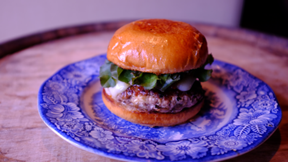 Social Southern Table & Bar is serving this wild boar and miatake mushroom burger until July 31 as part of the James Beard Foundation's Blended Burger Project.