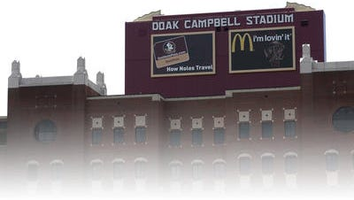After negative feedback from fans the advertisements on the south end zone scoreboard of Doak Campbell Stadium are being removed.