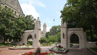 Indiana University's Sample Gates.