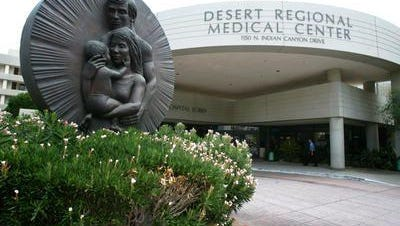 Visitation was restricted for two hours Sunday at Desert Regional Medical Center after a patient received a threat, officials said.